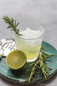 Cocktail au Limonverde, Gin & Romarin