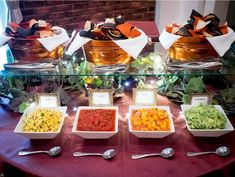 Salsa #Bar- Are you trying to decide whether you want mild or spicy #salsa at your next event? Get both by acquiring an outstanding salsa bar, so guests can have what they want.