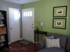 Great Green   Favorite Paint Colors Blog--is too light