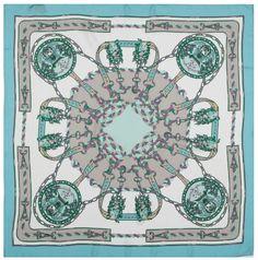 Mark Rozier silk scarf
