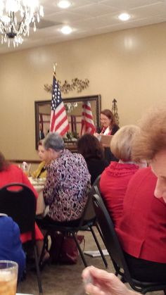 Greater Houston Council luncheon - Tx First Lady Cecilia Abbott, speaker - 2015