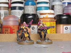WIP: Necromunda Escher Gangers finished! - Tale of Painters