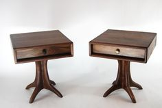 Sculpted Side Table - Drawer | Paul Lemiski