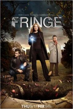 Fringe : Photo Anna Torv, John Noble, Joshua Jackson