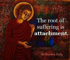 Dettachment is a protective & coping mechanism.....