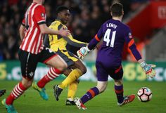 Danny Welbeck returns as a starter for the first time this season after a very long injury and scores two goals. Southampton 0-5 Arsenal (January 2017)