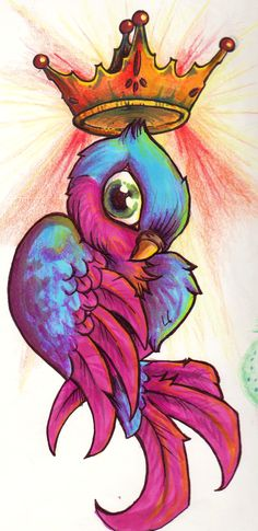 the bird king by greenhyena.deviantart.com on @deviantART