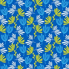 Sweet Blue Art Print by Anna Deegan