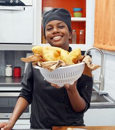 Fry Bake and Salt fish – EatAhFood Seafood Recipes, Indian Food Recipes, Cooking Recipes, Trinidad Fry Bake Recipe, Bake And Saltfish, How To Cook Pancakes, Cooking Pancakes, Jamacian Food, Trinidadian Recipes