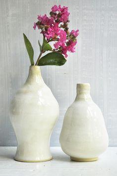 Lee Wolfe Pottery — ceramic vase set, great wedding gift