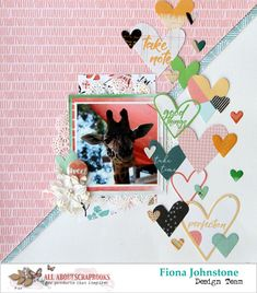 All About Scrapbooks Australia: Sweet by Pink Fresh Studio Let your Heart Decide School Scrapbook Layouts, Scrapbook Designs, Scrapbook Sketches, Card Sketches, Scrapbooking Layouts, Scrapbook Cards, Photo Layouts, Paper Hearts, Scrapbooks