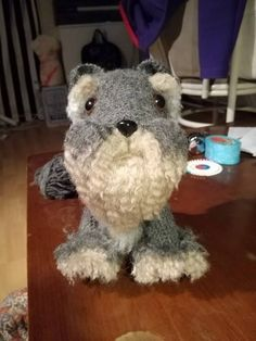 Amigurumi Dog Fur : PROJECT #027: AMIGURUMI DOG WITH DIY FUR Patterns, Fur ...