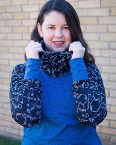 @5outof4patterns posted to Instagram: I love the cowl option of the Nancy Raglan Top, Tunic, and Dress pattern! It is so comfortable and cozy! The Nancy Raglan pattern has so, so many options! There's 5 bodice styles, 4 sleeve lengths, 4 neckline options, 3 sleeve finishes, nursing and maternity options, and more! Check it out with the link in my bio! The Nancy Raglan and all the patterns on the site are on sale until Sunday September 12!! #5outof4patterns #imadeit #5oo4 #pdf #isew #sewcialists Baseball Tees For Women, Fall Sewing, Pdf Sewing Patterns, Sewing Ideas, Knit Shirt, Swing Dress, Knitted Fabric, Printing On Fabric, Tunic