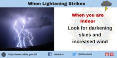 for darkening skies and increased wind. Lightning Safety, Thunderstorms, Management, Author, Sky, Education, Lightning Storms, Heaven, Storms