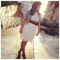 Vestido romanticón de ONLY ^_^