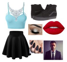 First date w/ Finn Balor by mrs4mbrose on Polyvore featuring polyvore мода style LE3NO Vans fashion clothing