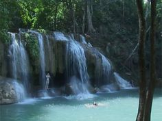 Destination: Koh Samui We'll go hiking in the rainforest - stop and rest by a the Hin Lad waterfall and Samui Hin waterfall, have a sandwich and a cold drink, maybe go for a swim!