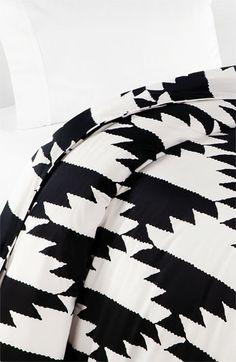 Diane von Furstenberg 'Native Hound' 300 Thread Count Duvet Cover | #Nordstrom