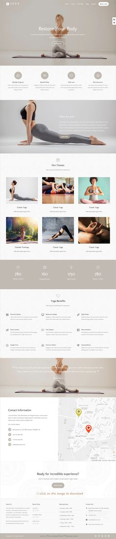 Engage is clean and modern design multipurpose responsive WordPress theme for #yoga and #fitness centers website with 30+ niche homepage layouts to download click on image.