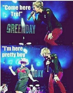 LOL! FYI, Tre is very crazy sometimes