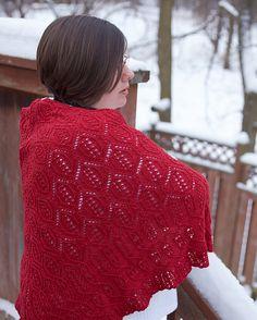 Ravelry: Cartouche Shawl pattern by Janelle Martin