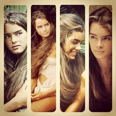 Brooke Shields in The Blue Lagoon. I just watched this on LMN lol. Loved it when i was younger n havent seen in in years.