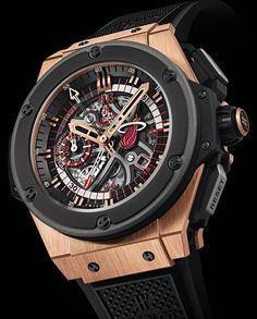 Hublot King Power Miami Heat-- we're just waiting for the LAKERS version!