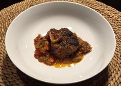 Osso Buco made with venison shanks - you'll never grind your shanks again once you try this recipe.
