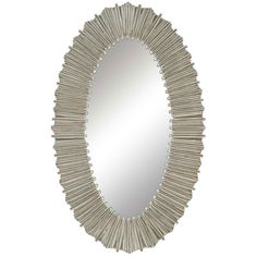 36 X 22   $260 Paragon Silver Straws Wall Mirror & Reviews | Wayfair
