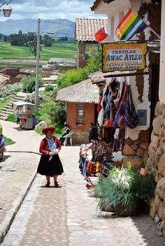 A small village in Peru