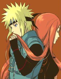 Minato and Kushina | Naruto