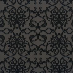 Shop Walls Republic Ornate Pattern Wallpaper at Lowe's Canada. Find our selection of wallpaper at the lowest price guaranteed with price match. Wallpaper For Sale, Home Wallpaper, Contemporary Wallpaper, Traditional Wallpaper, Renovation Hardware, Orange Wallpaper, Wrought Iron Fences, American Staffordshire, Designer Wallpaper