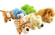 Wholesale Freeshipping Nici series jungle plush toy small doll cartoon animal refrigerator stickers magnet  PT3061 $28.99