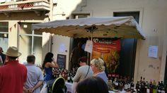 jeudi 20/08 au marché de Eauze , stand #plaisirsdegascogne braderie de grands vins http://www.plaisirsdegascogne.com/boutique/fr/