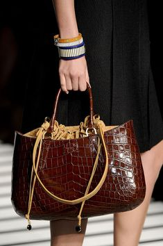 Fendi Spring 2012  I guess I do occasionally like expensive purses...
