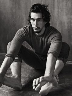 Adam Driver, photographed by Sebastian Kim for INTERVIEW, April 2013.