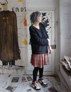 an interview with rose wylie, whose elemental large-scale paintings are shown at the tate from may 14th