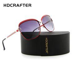 HDCRAFTER polarized Luxury brand sun glasses women sunglasses 2017 brand designer sun glasses for women Stylish Glasses For Women, Womens Glasses, Sunglasses 2017, Sunglasses Women, Luxury Branding, Branding Design, Amazing Women, Dame, My Style