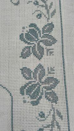 Cross Stitch Borders, Cross Stitch Designs, Embroidery Stitches, Kids Rugs, Crochet, Pattern, Crafts, Diy, Decor