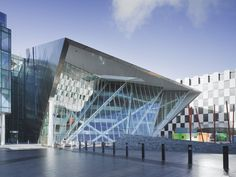 Grand Canal Square Theatre, Dublin, Ireland. Image by Ros Kavanagh.