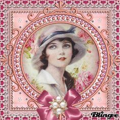 VINTAGE- CLASSIC Beautiful, Lady, Classic, Vintage Pictures, Scrapbook, Art, Pictures, Derby, Classic Books
