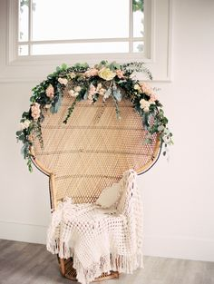 Fresh florals and macrame: recipe for a lovely photoshoot