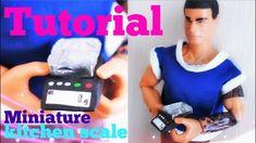 Tutoriel : balance alimentaire miniature pour nos dolls 🍫🥛🥥 Barbie, Miniature Kitchen, Balance, Doll Tutorial, Lps, Pet Shop, Miniatures, Youtube, Pet Store