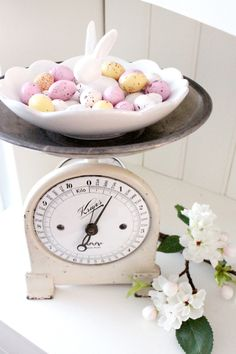 Here Comes Peter Cottontail, Coloring Easter Eggs, Cooking Timer, Happy Easter, Spring Time, Bunnies, Easter Decor, Kitchen Accessories, Sew
