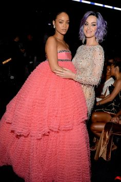 How cool would Rihanna and Katy Perry costumes be?