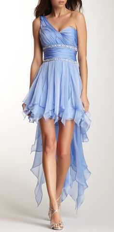Periwinkle Prom Dress