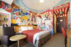 Nanami Ishimura - matsuri mural in Park Hotel Tokyo