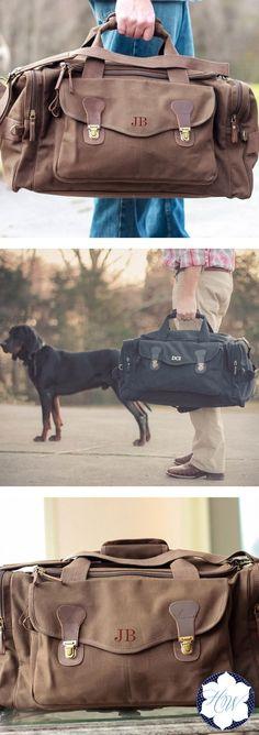 Персонализированные Военный стиль выходные Путешествие вещевой мешок является идеальным Шафера подарок!  Эта сумка идеально подходит для любого отдыха в выходные дни (не сделал кто-то сказал мальчишник?) .: