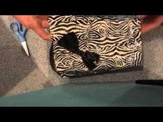 Duct tape purse tutorial part 1 (HD)