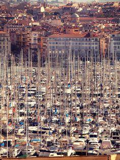 Vieux port by k-rlitos, Marseilles
